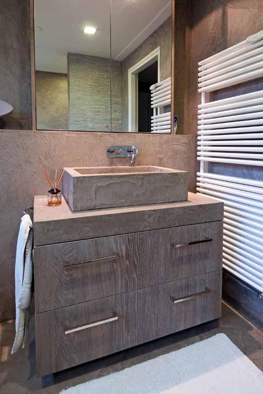 Badkamer nijland interieur meubelmakerij for De laat interieur