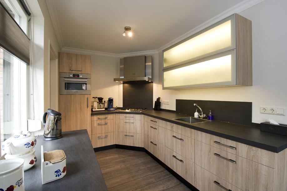 Keuken hpl nijland interieur meubelmakerij - Dimensie centraal keuken eiland ...